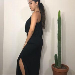 Felicity & Coco Dresses - • Little Black Maxi Dress •